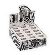 14231 Ластик из натурального каучука Hatber Zebra 32х18х8 мм  (16880)