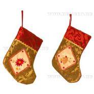 Носок для подарков, H 18 см,  07321